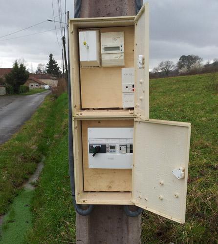 Distribution Electrique SDE65-6