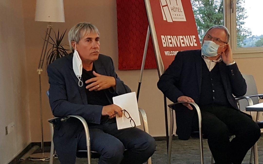 PATRICK VIGNES, PRÉSIDENT DU SDE65 , À LA RENCONTRE DES TERRITOIRES
